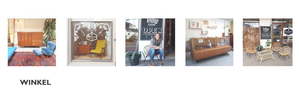 Vintage Revival, vintage interieur winkel aan de rand van Utrecht, De Meern